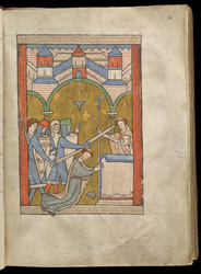 The Martyrdom of Thomas Becket, In A Psalter